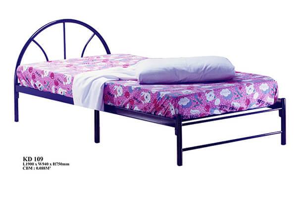 KD 109 Metal Single Bed