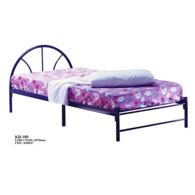 KD 109 Metal Single Bed