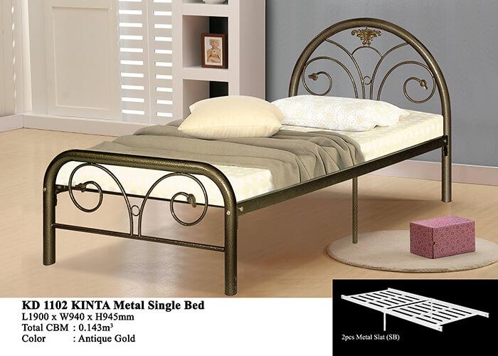 KD 1102 Metal Single Bed