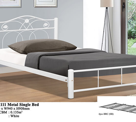 KD 1111 Metal Single Bed