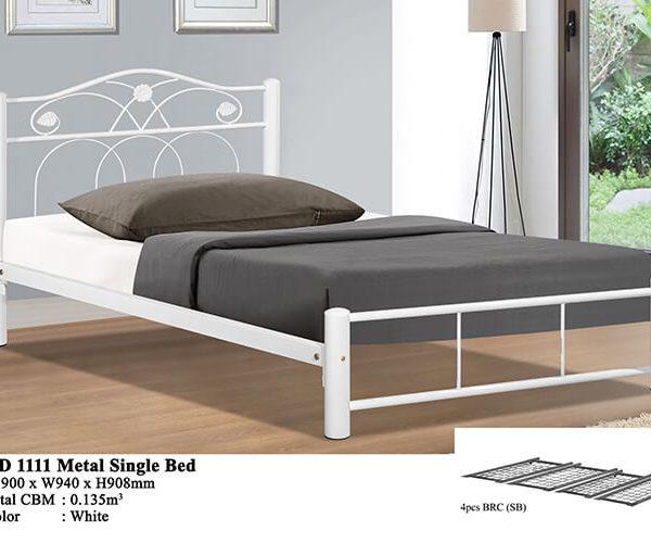 KD 1111 Metal Single Bed