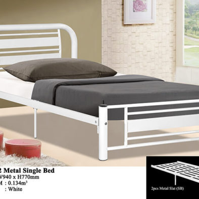 KD 1112 Metal Single Bed
