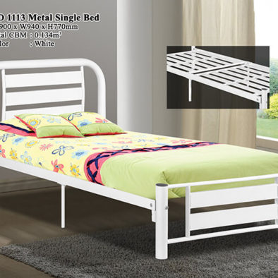 KD 1113 Metal Single Bed