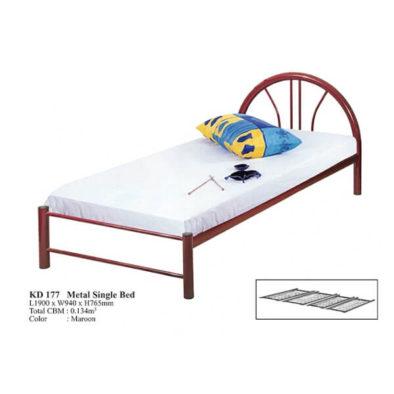 KD 177 Metal Single Bed
