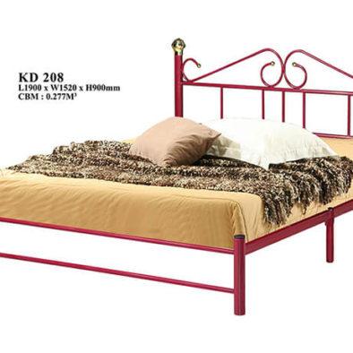 KD 208 Metal Queen Bed