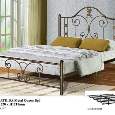 KD 2106 MATILDA Metal Queen Bed