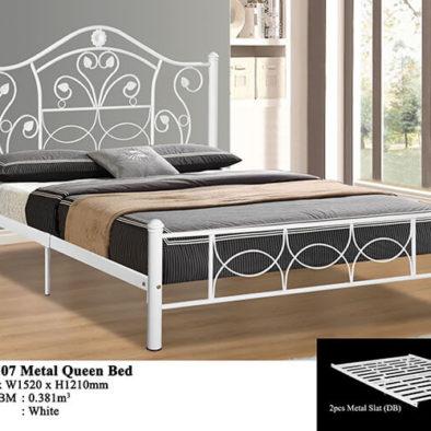 KD 2107 Metal Queen Bed