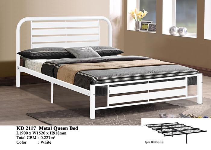 KD 2117 Metal Queen Bed