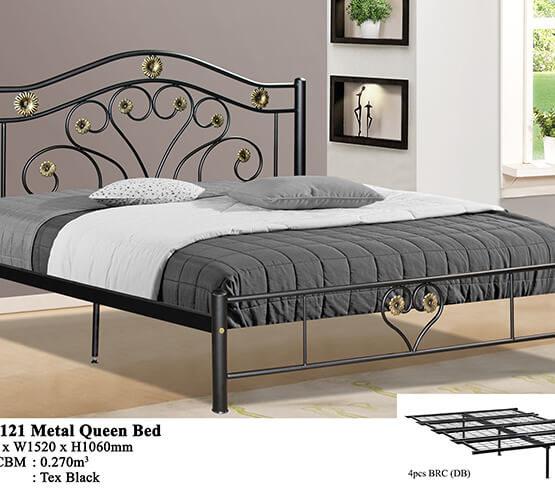 KD 2121 Metal Queen Bed