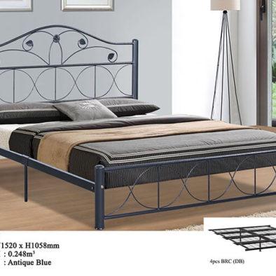 KD 2125 Metal Queen Bed