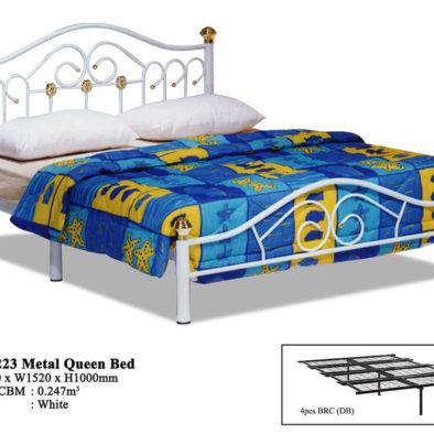 KD 223 Metal Queen Bed