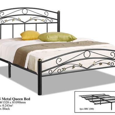 KD 255 Metal Queen Bed