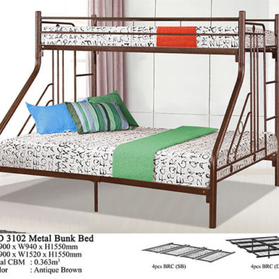 KD 3102 Metal Bunk Bed