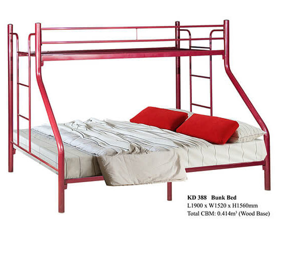 KD 388 Metal Bunk Bed