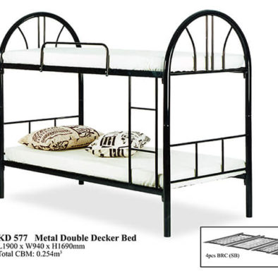 KD 577 Metal Double Decker Bed