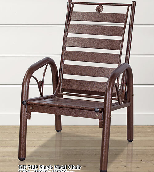 KD 7139 Single Metal Chair