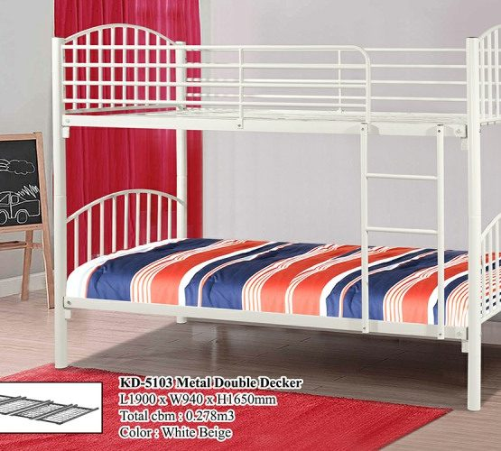 KD 5103 Metal Double Decker Bed