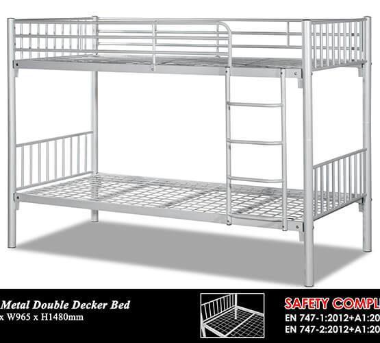 KD 5925 Metal Double Decker Bed