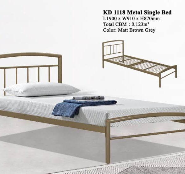 KD 1118 Metal Single Bed